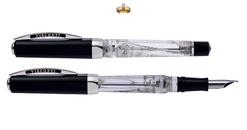 Visconti Opera Master Silver Dust Fountain Pen (Limited Edition)