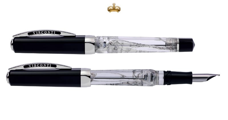 Visconti Opera Master Silver Dust Vulpen (Limited Edition)