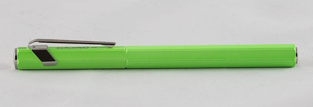 Caran d'Ache 849 Fluor Groen complete vulpen