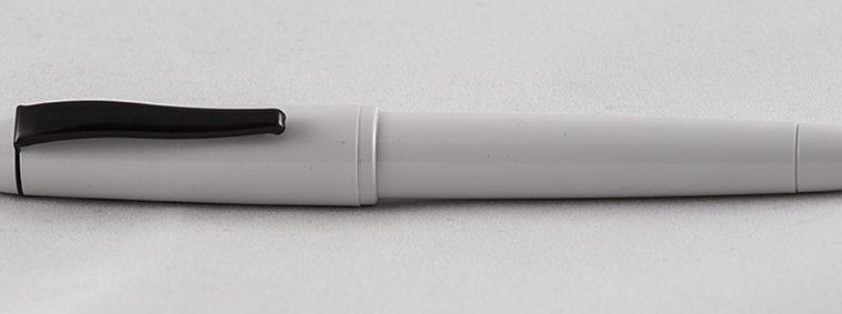 Super5 medium white complete fountain pen