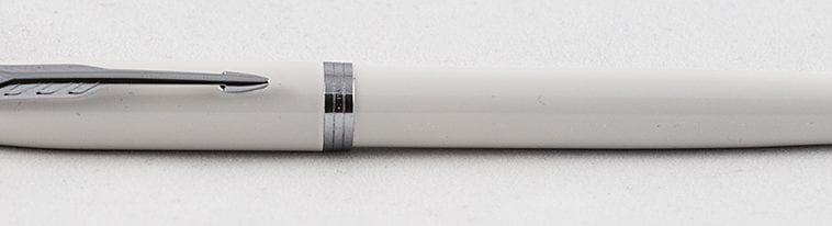 Parker IM white complete fountain pen