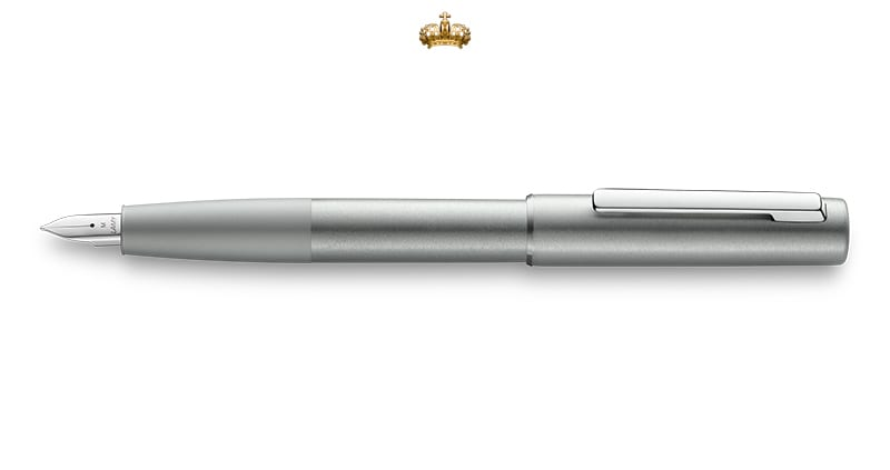 Lamy Aion Silver Fountain Pen