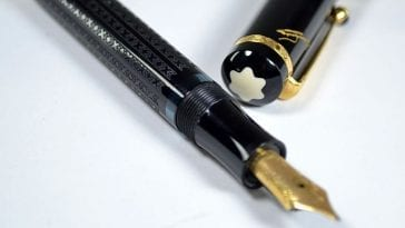 Montblanc Dostojevsky writers edition fountain pen