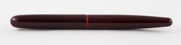 Nakaya Cigar Long Aka-tamenuri Complete Fountain Pen