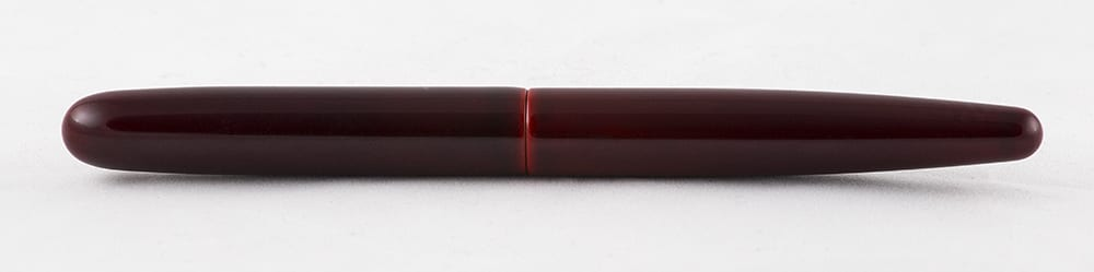 Nakaya Cigar Long Aka-tamenuri Complete Fountain Pen