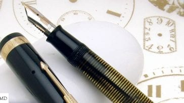 Parker Vacumatic nib and cap