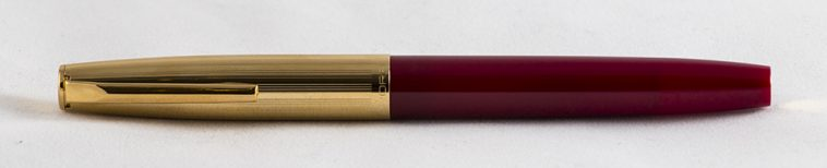 Aurora Duo-Cart Red Gold Complete Fountain Pen