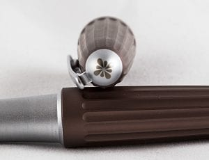 Diplomat Aero Metallic Brown Fountain Pen cap