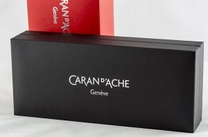 Caran d'Ache Ecridor Retro fountain pen inner box