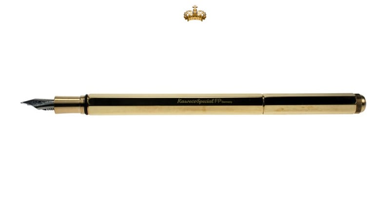Kaweco Special Massive Brass Fountain Pen
