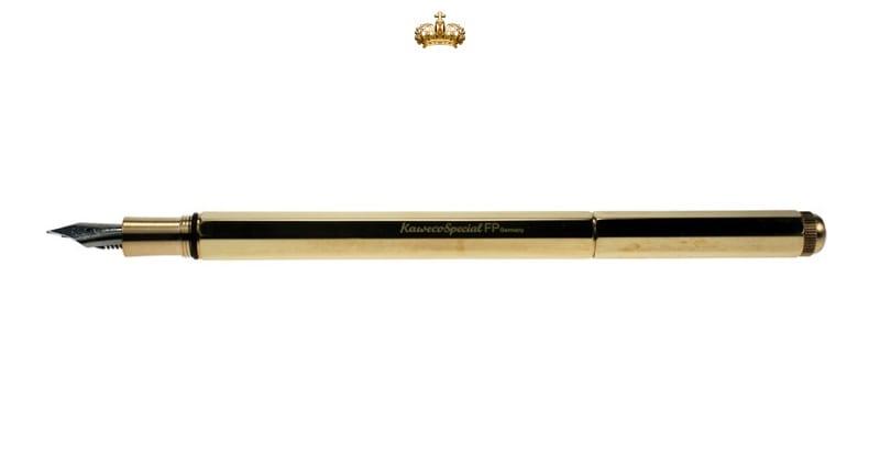 Kaweco Special Massive Brass Vulpen