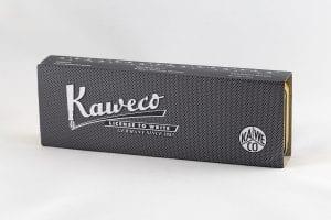 Kaweco Special Massive Brass box