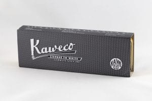 Kaweco Special Massive Brass doosje